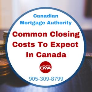 Hamilton Mortgage - Common Closing Costs