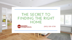 Oakville Mortgage Broker - Finding the Right Home