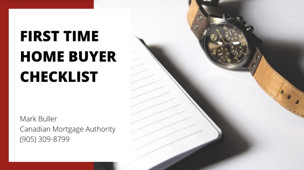 Oakville Mortgage Broker - Checklist