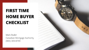 Oakville Mortgage Broker - Checklist